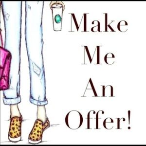 I'd love a good offer💖